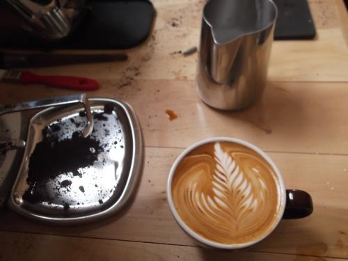Local Coffee Art