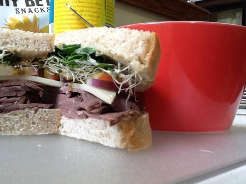 Savory Beef Sandwich!