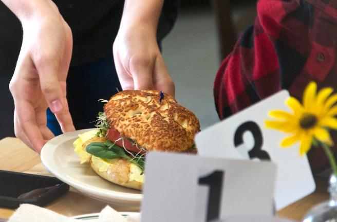 Bagel sandwich copy